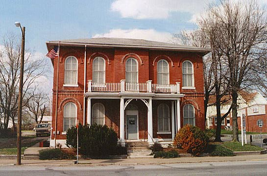 Boonville - Old Warrick Co. Jail (1877)