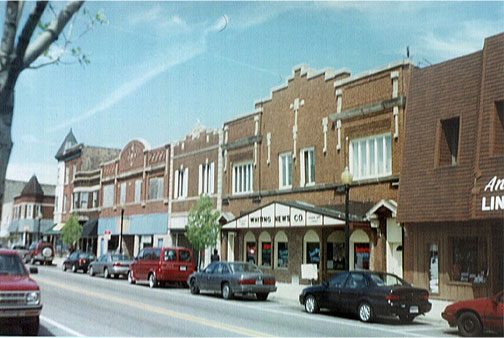 Whiting, Indiana 119th Street Commercial District