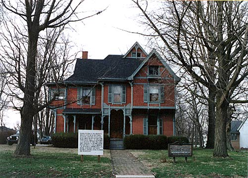 Colonel Isaac C. Elston House, Crawfordsville, Indiana