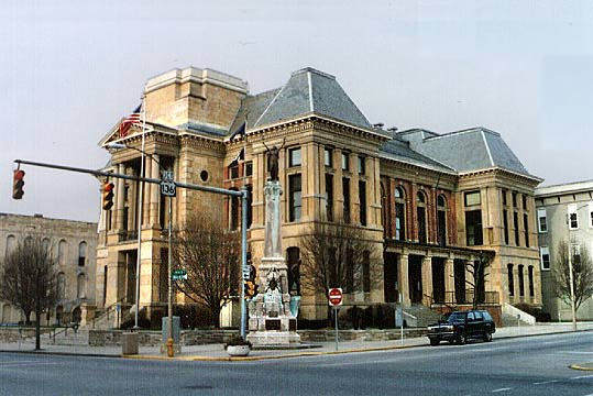 Montgomery Co. Courthouse, Crawfordsville, Indiana