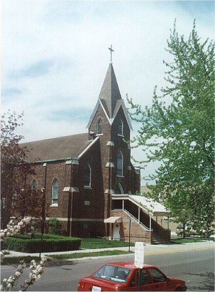 East Chicago church - Gothic Revival