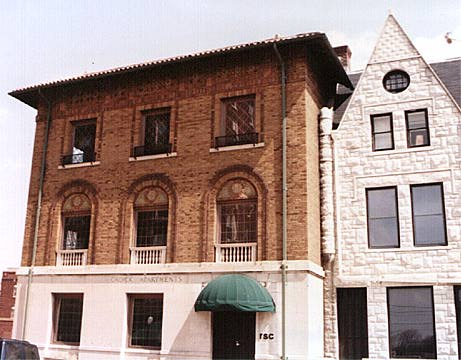 Evansville Indiana -Richardsonian Romanesque apartments