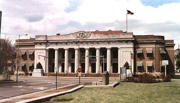Landmarks of Evansville, Indiana - Public Buildings - Soldiers & Sailers Memorial Coliseum