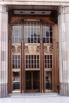 Fort Wayne, Indiana - Lincoln Tower doors