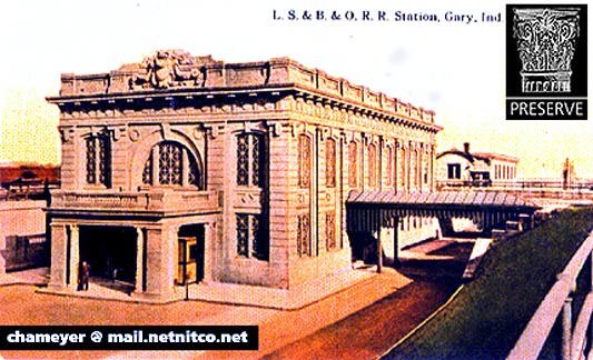Postcard Images Of Gary Indiana Landmark Buildings