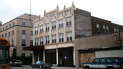 Colonial Revival Lincoln Hotel State Street Hammond Indiana