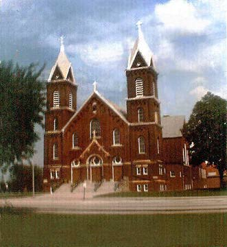Saints Peter and Paul Church, Merrillville, Indiana (1916)