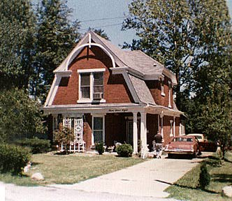 Historic House, Lowell, Indiana