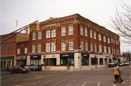 Elks Temple Building, downtownValparaiso, Indiana